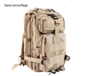 2016 New Woodland Camouflage Military Tactical Backpack Military Woodland Camo Backpack pictures & photos