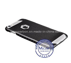 Good Quality Real Carbon Fiber Material for iPhone 6 Plus Case pictures & photos