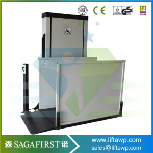 100kg 2m Outdoors Household Elderly People Wheelchair Lift Platform pictures & photos