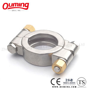 3A DIN Stainless Steel Sanitary High Pressure Clamp pictures & photos