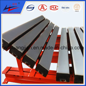 Rubber Disc Conveyor Roller Rubber Impact Roller Passed ISO 9000 pictures & photos