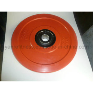 Crossfit Weight Lifting Colored Rubber Bumper Plates Weight Plates pictures & photos
