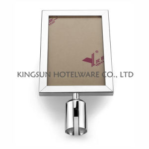 Silver Sign Frame Standing for Decoration Design Show pictures & photos
