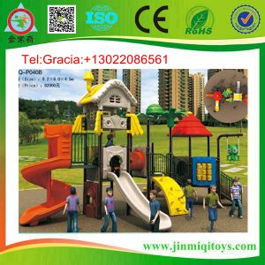 Outdoor Amusement Equipment, Outdoor Children Playsets, Kids Outdoor Play Structure (JMQ-P040B)