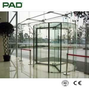 Automatic Circular Arc Glass Door System pictures & photos