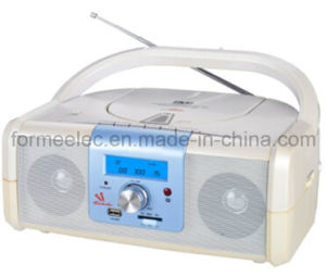 DVD CD MP3 Player with Cassette Recorder Boombox pictures & photos