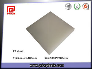 Prior Plastic PP Sheet with Natural Color pictures & photos