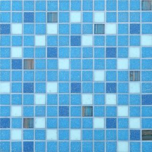 20*20mm Glass Mosaic Pattern Design Swimming Pool Mosaic pictures & photos
