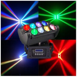 Stage Light 8*10W RGBW 4in1 Beam LED Spider Moving Head Light pictures & photos