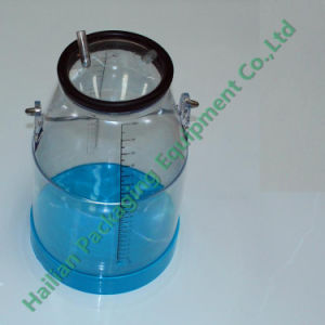 25L Plastic Transparent Milk Bucket with Scale pictures & photos