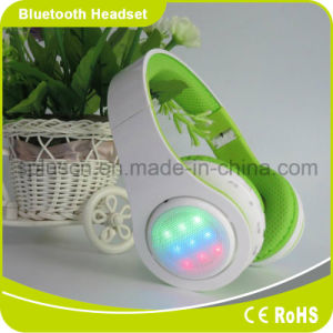 Dynamic LED Light up Bluetooth Headphones with Mic Volume Control pictures & photos