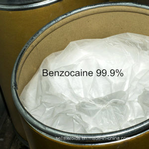 99.9% Benzocaine Powder Anesthesia USA Canada Benzocaine HCl pictures & photos