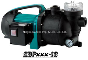 (SDP600-13) High Pressure Garden Sprinkler Utility Pump with Hose Connection and Water Filter