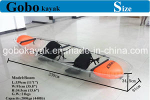 Clear Kayak/Transparent Kayak pictures & photos