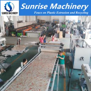 Plastic PVC Artificial Marble Board / Sheet Making Machine pictures & photos