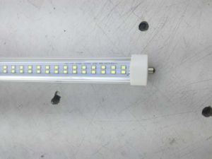2400mm 44W Double Line Single Pin T8 Tube Light pictures & photos