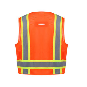 ANSI/Isea 107-2015 Reflective Safety Vest pictures & photos