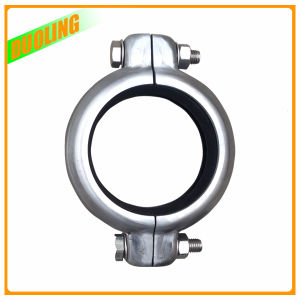 Ss304 Pipe Ss316 Bolt Nut Flexible Fluid Hydraulic Quick Grooved Coupling pictures & photos