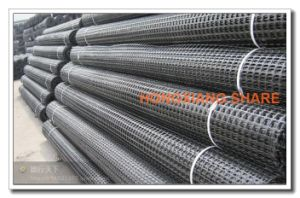 Polyester Geogrid 50kn-60kn Factory Manufacturer pictures & photos
