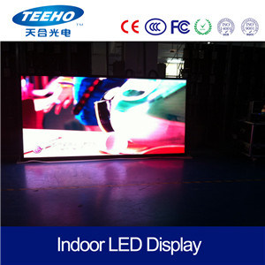 Interior Seamless Giant 4mm LED Video Display Wall LED Sign pictures & photos