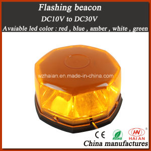 High Brightness LED Flashing Beacon in DC10V to DC30V pictures & photos
