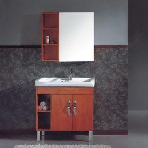 Modern Style Bathroom Vanity with Mirror (NJ-637) pictures & photos