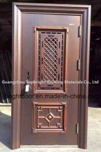 China Stainless Steel Single Door Design Metal Door pictures & photos
