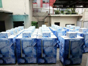 Single Door Gas Station Bagged Ice Merchandiser with 120 Bags Capacity pictures & photos