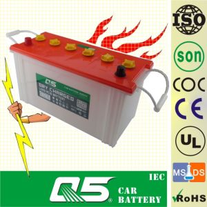 JIS N100 12V100ah, Tractor Battery Sweeper Garbage Truck Battery pictures & photos