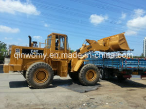 6-Cylinders 20ton Used 3~5-Cbm-Bucket-Capacity Caterpillar 966D Front-Discharging Backhoe Wheel Loader pictures & photos