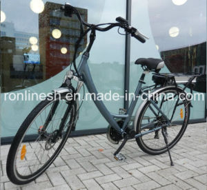 28in Wheel, MID Mounted/Center Motor/Chain Drive 250W Electric Bicycle/Bike/E Bike/Pedelec, 36V, 15ah CE pictures & photos