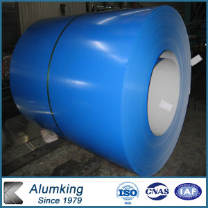 1000mm Width 8011 Blue Color Coated Aluminium Coil pictures & photos