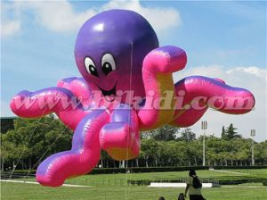 Cute Flying Inflatable Octopus, Parade Giant Helium Balloon K7152 pictures & photos