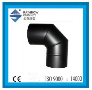 Single Wall Stainless Steel Chimney Pipe with Paint - 90 Degree Elbow pictures & photos