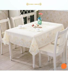 PVC Table Cloth PVC Lace Tablecloth pictures & photos
