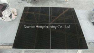 Mongolia Black Granite/Black Tile/Black Granite for Countertop/Paving/Flooring pictures & photos