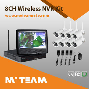 8-Channel CCTV Surveillance System with 8 IP Cameras for Factory Monitor (MVT-K08) pictures & photos