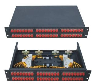 48 FC Rack Mounted Fiber Optic Patch Panel Terminal Box pictures & photos