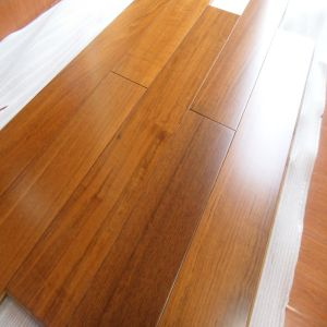Prefinished Wide Plank Burma Teak Solid Wood Flooring pictures & photos