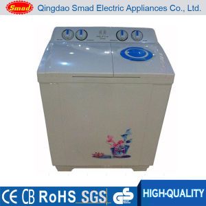 Plastic Twin-Tub Electric Semi-Automatic National Clothes Washing Machine pictures & photos