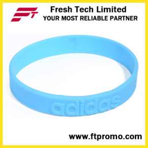 Fashion Sports Silicone Wristband with Customized pictures & photos