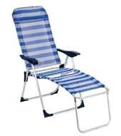 Aluminum Chaise Lounge Oxford Fabric Chaise Lounge Fishing Folding Chair, Beach Chair Comfortable