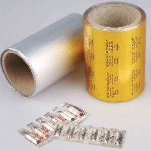 Composited Aluminium Foil Used for Suppository Medicine Packaging pictures & photos