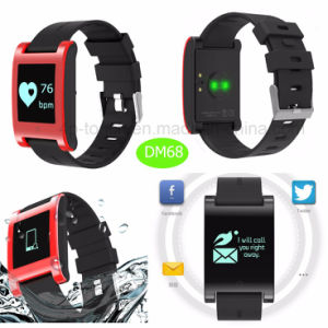 Hot Selling Smart Bluetooth Bracelet with Movement Monitor Dm68 pictures & photos