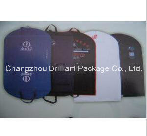 PP Non Woven Garment Bag/Garment Cover/Suit Bag/Suit Cover with Handles pictures & photos