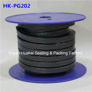 Corrosion Resistant Graphite PTFE Fiber Braided Packing with Oil