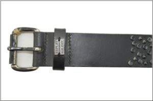 Genuine Leather Fashion Stud Belt for Men pictures & photos