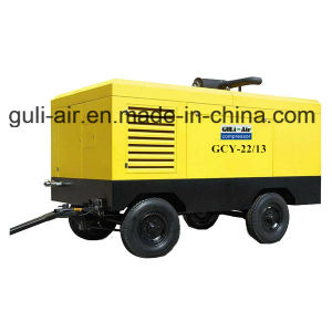 Portable Diesel Engine Driven Screw Air Compressor pictures & photos