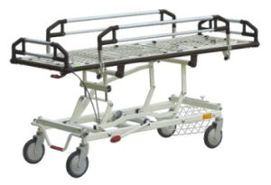 Emergency Bed Hospital Bed Stretcher (YQC-3M) pictures & photos