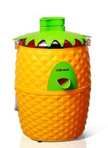 Eye-Catching Pineapple Shape Cantrifugal Juicer for Home Using or as Gift pictures & photos